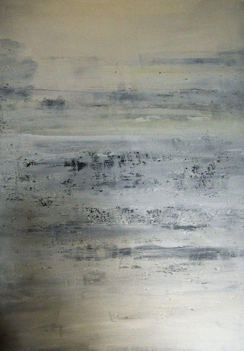 Peinture sable blanc bleu